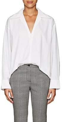 Acne Studios Women's Cotton Poplin Oversized Tunic - White