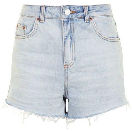 TopshopTopshop Moto highwaisted mom shorts