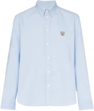 Kenzo embroidered tiger cotton shirt