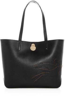 Longchamp Shop It Medium Leather Tote