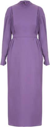 Lake Studio M'O Exclusive Midi Long Sleeve Dress