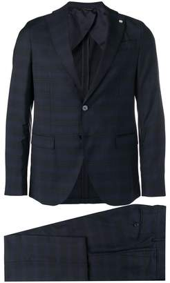 Manuel Ritz checked two-piece suit