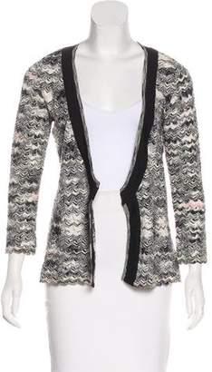 Missoni Knit Patterned Cardigan