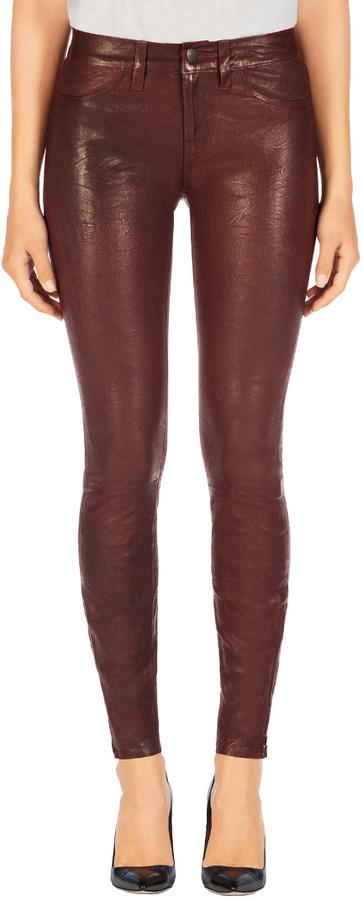 J Brand L8001 Leather Super Skinny