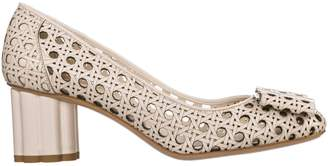 Salvatore Ferragamo Leather Pumps Court Shoes High Heel