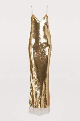 Stella McCartney Silk maxi dress