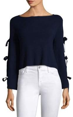 Milly Split Sleeve Pullover