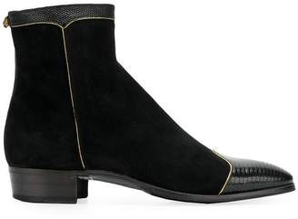 Gucci panelled ankle boots