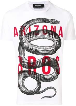 DSQUARED2 snake print T-shirt