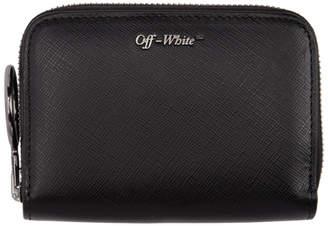 Off-White Off White Black Logo Wallet