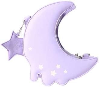 Haolong New Design Fashion Novelty Lolita Girls Moon Star Crossbody Cosplay bag