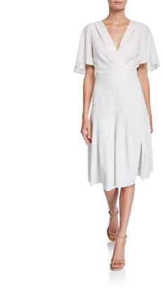 dbb52de0 Elie Tahari Jila V-Neck Short-Sleeve Dress