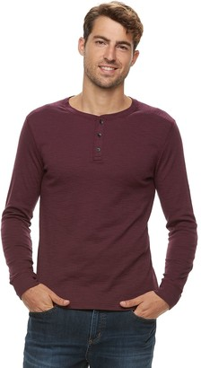 Apt. 9 Men's Soft Touch Slubbed Henley