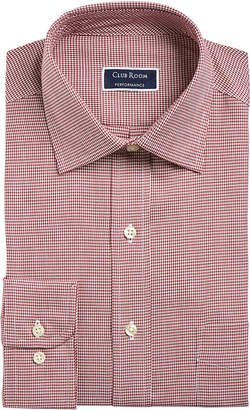 Club Room Men Slim-Fit Stretch Twill Puppytooth Dress Shirt