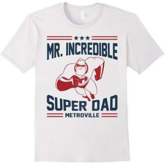 Disney Pixar The Incredibles Mr Super Dad Metroville T-Shirt