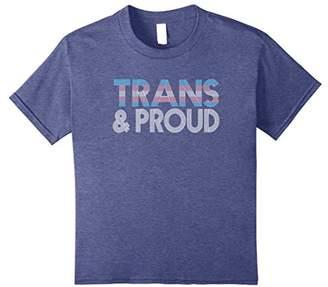 Trans And Proud LGBT Transgender T-Shirt Retro