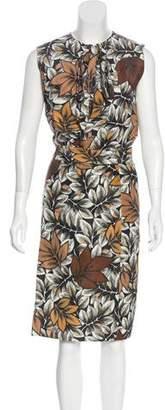 Marni Printed Sleeveless Dress Set