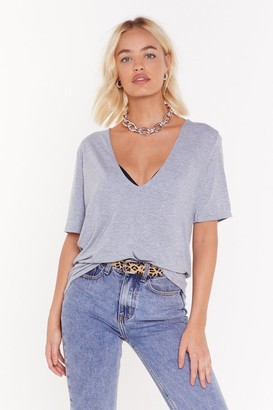 Nasty Gal Here's the Scoop Relaxed Tee