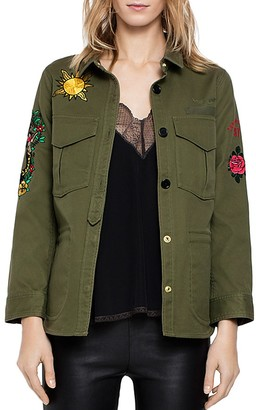 Zadig & Voltaire Tackl Tattoo Jacket $428 thestylecure.com