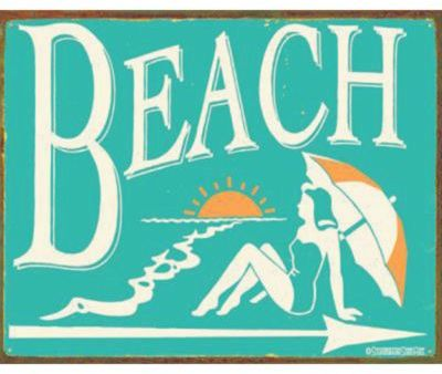 Beach Outdoor Print Large