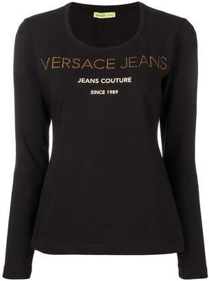 Versace classic print T-shirt