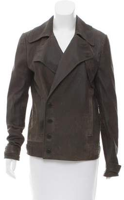 Alexander Wang Distressed Suede Jacket