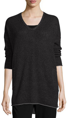 Eileen Fisher Cashmere Tunic W/ Pockets $398 thestylecure.com