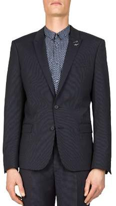 The Kooples Dotted Stripe Slim Fit Sport Coat