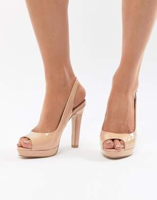 Miss KG Cleo Peep Toe High Heels