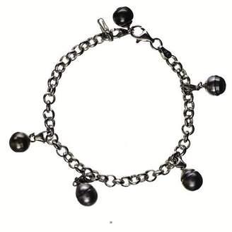 Black Dido Tahitian Pearl Charm Bracelet