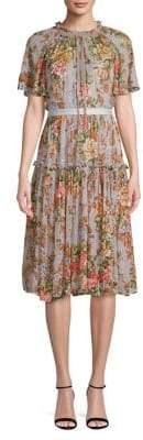 Needle & Thread Paradise Rose Fit Flare Dress