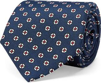 Ralph Lauren Neat Silk Narrow Tie