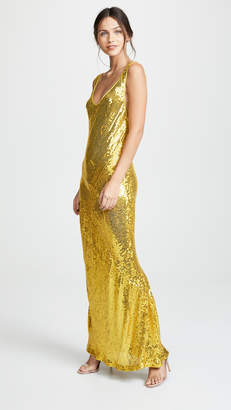Galvan London Sequin Valletta Dress