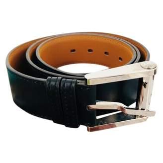 Hermes Black Leather Belts