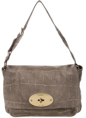 Mulberry Suede Bayswater Flap Bag $325 thestylecure.com