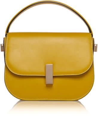 Valextra Iside Mini Leather Top Handle Bag