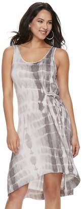Juicy Couture Women's Tie-Dyed Knit Gathered Dress