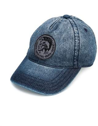 Diesel badge detail cap