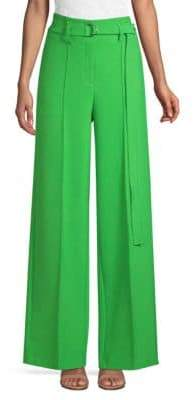 Robert Rodriguez Wide Leg Belted Pants