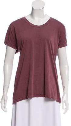 J Brand Basic Short Sleeve Top