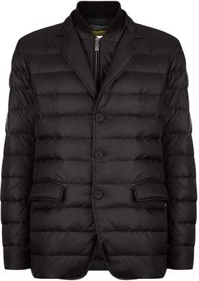 Canali Quilted Gilet Zip Jacket