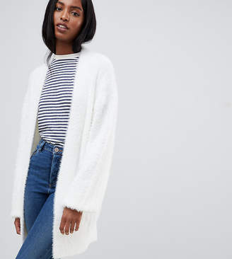 Asos Tall DESIGN Tall cardigan in fluffy rib