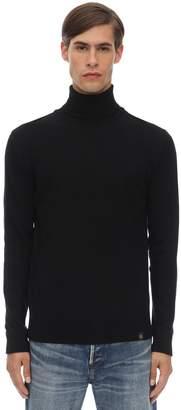 Belstaff Engineered Wool & Cashmere Knit Sweater