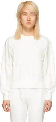Rag & Bone White Inside Out Sweatshirt