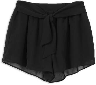 Habitual Girls' Bridget Tie-Front Shorts - Big Kid