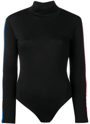 Marcelo Burlon County of Milan side-stripe bodysuit