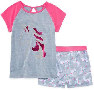 JELLIFISH KIDS Jelli Fish Kids 2-pc. Shorts Pajama Set Girls