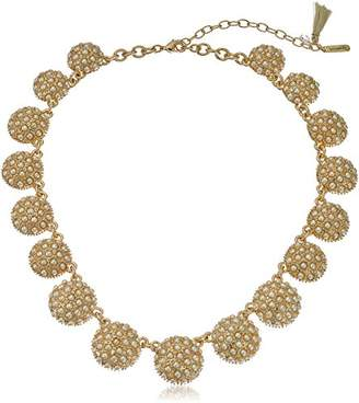 lonna & lilly Tone and Pearl Collar Necklace