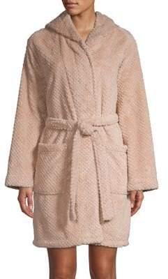 Elysian Textured Hooded Robe
