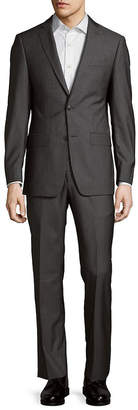 Michael Kors Striped Notch-Lapel Suit